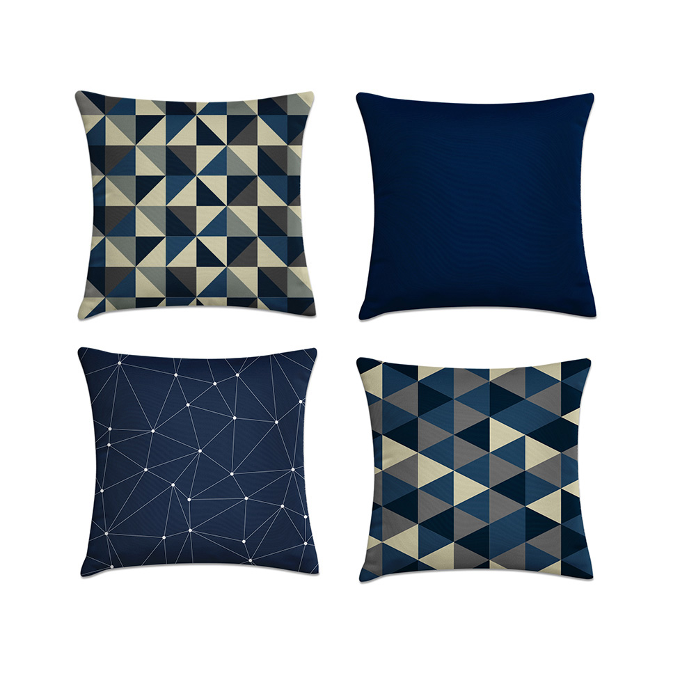 af907a7e076512 kit 4 capas almofadas azul marinho e bege II